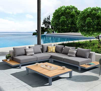 Outdoor Sectional set AL Palu