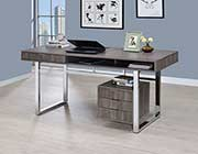 Weathered Grey Writing Desk CO 897