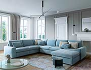 Sectional sofa with Bed EF Kataro