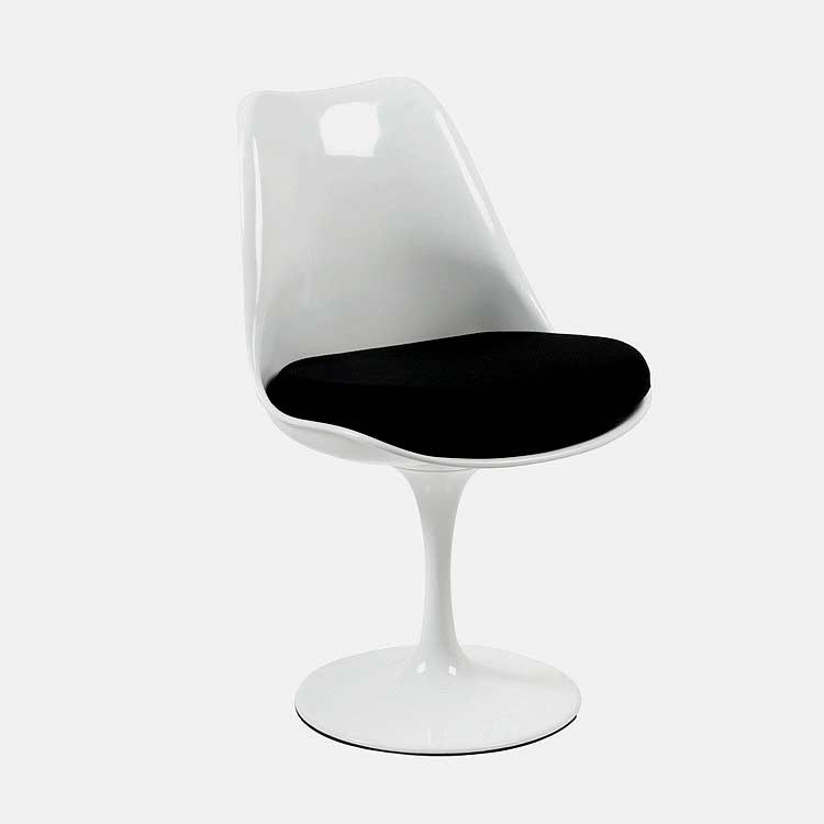 Charmant Retro Modern Style Beth Swivel Side Chair