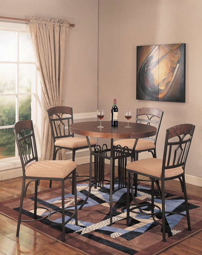 Counter Height Dining Table Copper