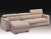 Carrera Italian Leather Sectional Sofa