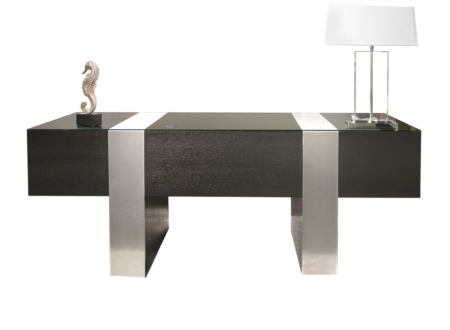 sh01 white lacquer desk executive