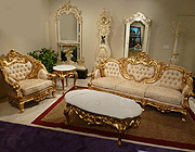 French Provincial Sofa Collection PL Romantic