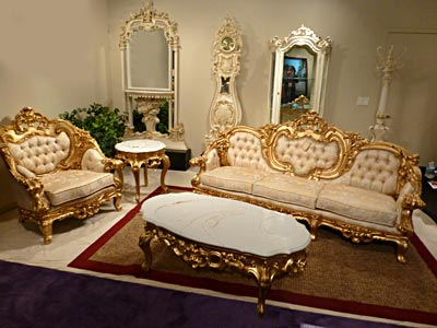 French Provincial Sofa Collection Pl Romantic Baroque Sofas