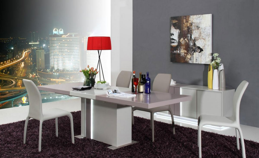 Extendable Modern Dining Table VG43 Modern Dining