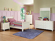 White Bedroom Set HE875