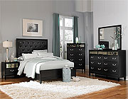 Glamour Black Bed CO121