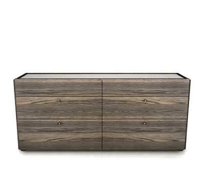 Motion 6 Drawer Dresser by Huppe