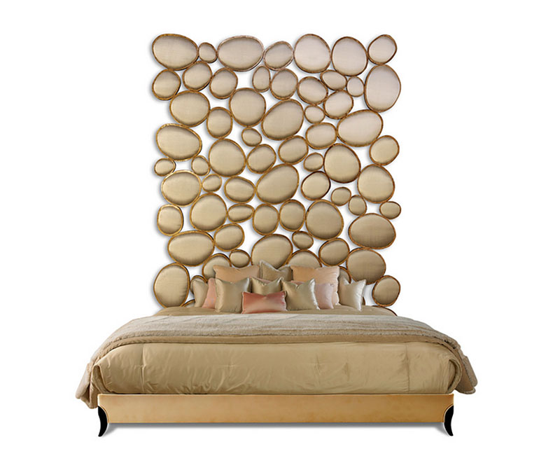 Attirant Pebble Beach Headboard By Christopher Guy