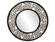 Round Ornate Designer Mirror HRE 095