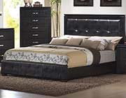 Upholstered Faux Leather Modern Bed CO 401
