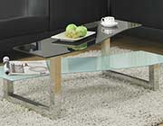 Glass coffee table W 035