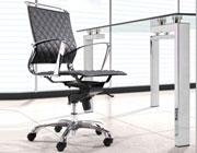 Leatherette Low Back Office Chair Z-884