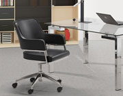 Black Swivel Office chair Z-156