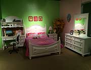 White Youth Bedroom Etna AC205