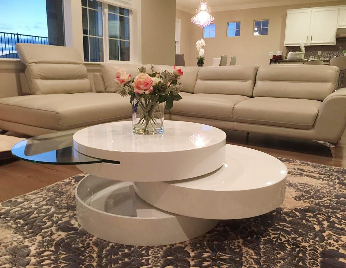 Modern Swivel Coffee Table Coffee Tables