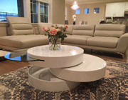 Modern Swivel Coffee Table
