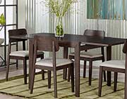 Extendible Wenge dining table Caden