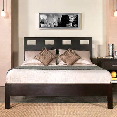 Platform Espresso bed MS Nile 7