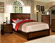 Platform Bed in Tobacco Finish FA08