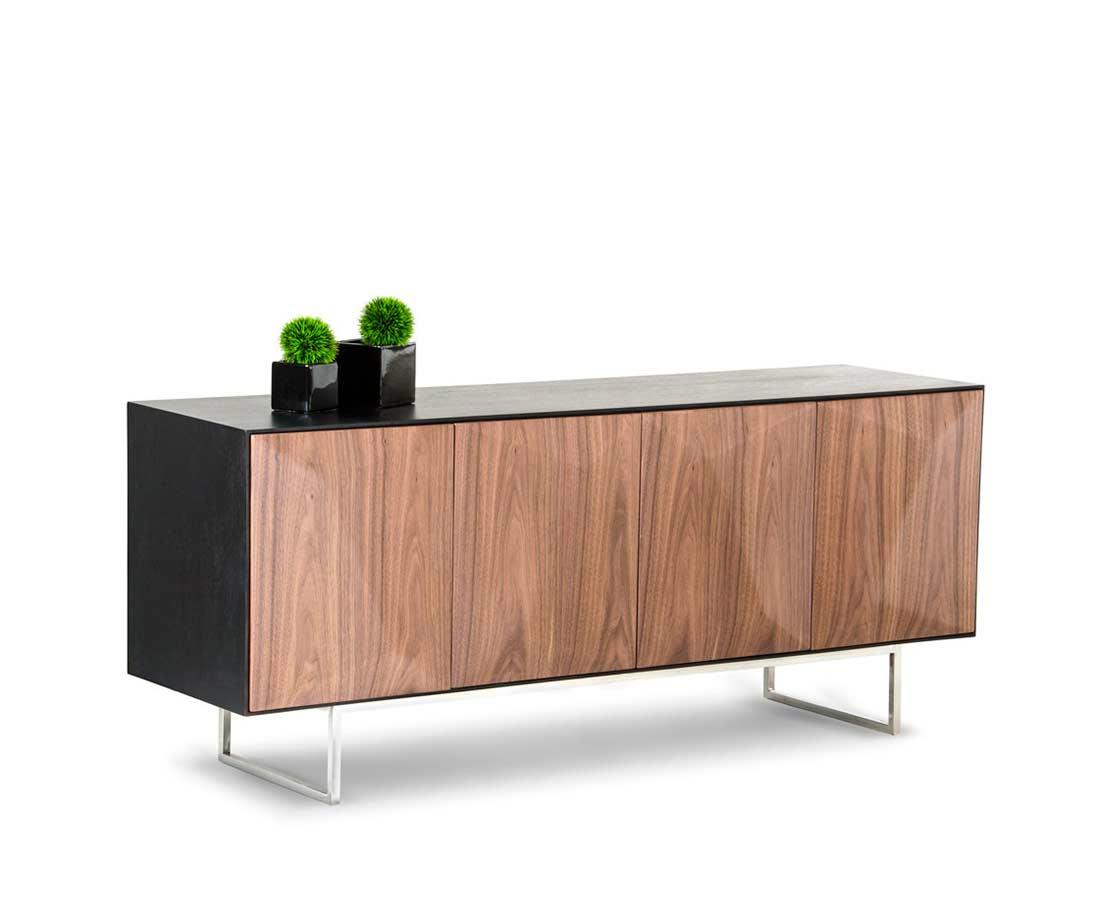 walnut and wenge dining table vg052 modern dining. Black Bedroom Furniture Sets. Home Design Ideas