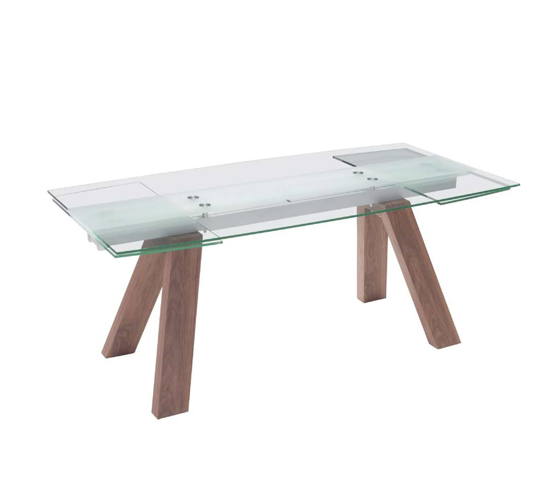 Extendable Glass Dining Z263 Modern Dining