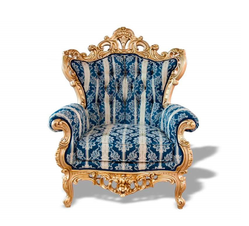 French Provincial Accent Chair Provincial : french provincial accent chair blue classic gold b from www.avetexfurniture.com size 853 x 776 jpeg 146kB