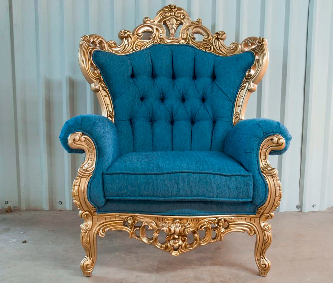 French Provincial Accent Chair Provincial