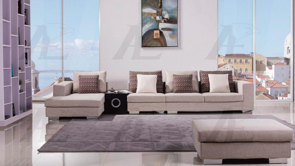 Cream Fabric Sectional Sofa Ae200 Fabric Sectional Sofas