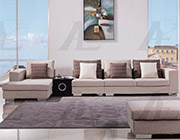 Cream Fabric Sectional Sofa AE200