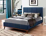 Blue Woven Fabric Bed CO626