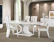 White Modern Dining table AE 110
