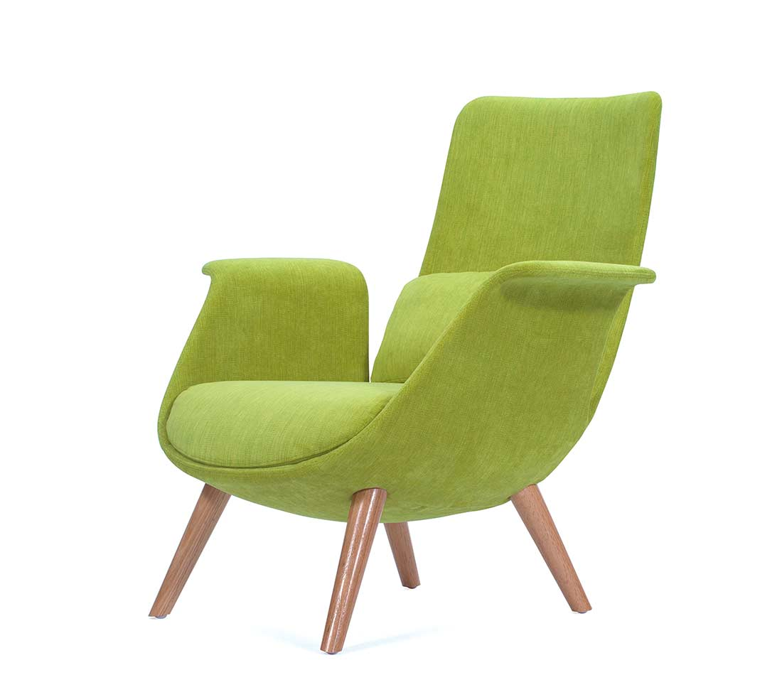Green Fabric Accent Chair Np 002 Accent Seating