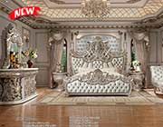 Silver Classic Bedroom HD 088