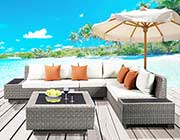 Outdoor Patio Sectional with Cocktail table AC 020