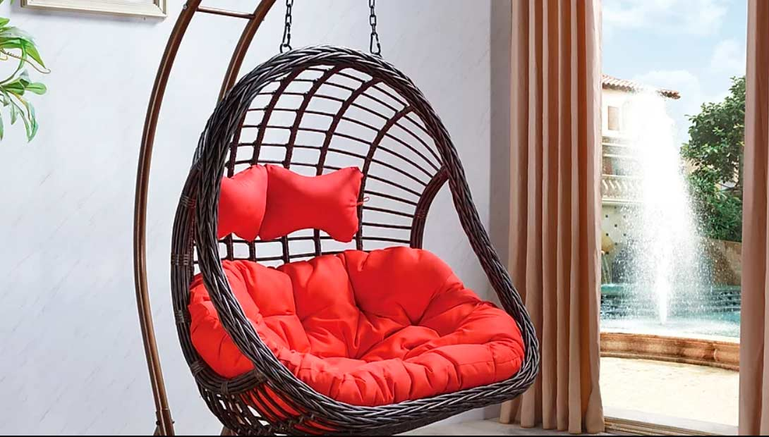 Hanging Basket Chair At 02 Outdoor Patio Lounges