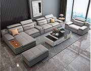 Convertible Sectional sofa in Gray EF 08