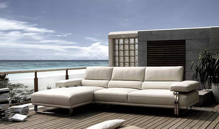 Top Italian Collection Leather Sofa PL006 ...