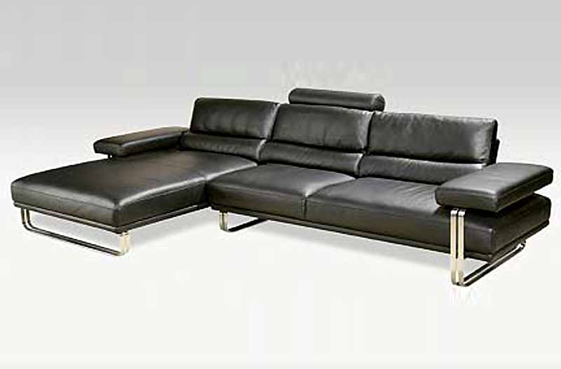 top italian collection leather sofa pl006 - Italian Leather Sofa