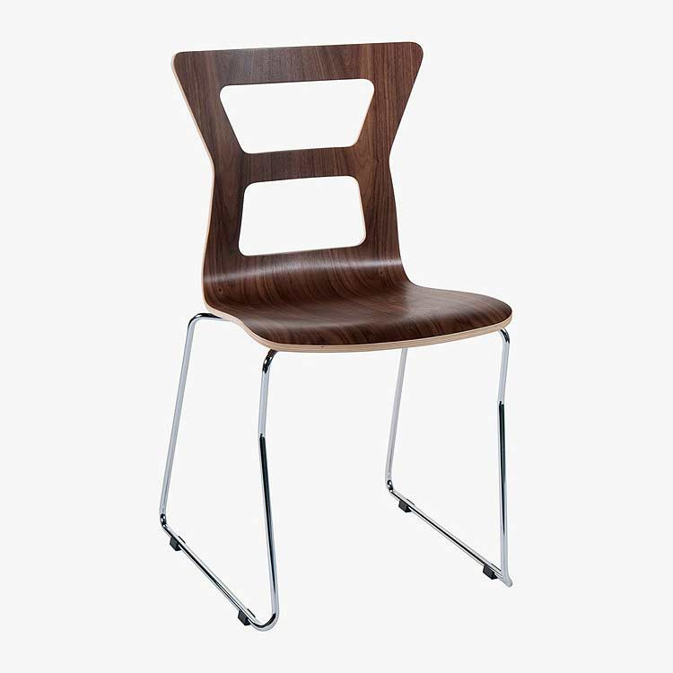 Nadine side chair elegant and comfortable modern chairs for Comfortable modern dining chairs