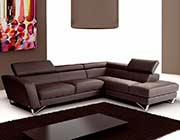 Sparta Italian Leather Sectional Sofa