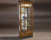 Two Way Sliding Door Curio Cabinet