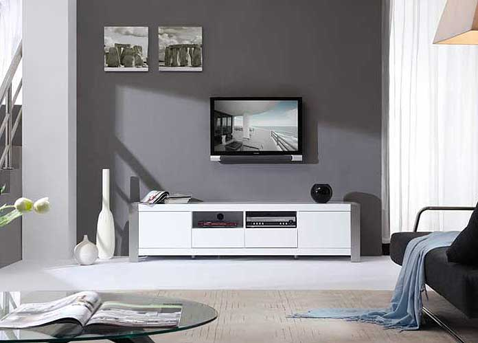 modern white tv stand bm01 tv stands. Black Bedroom Furniture Sets. Home Design Ideas