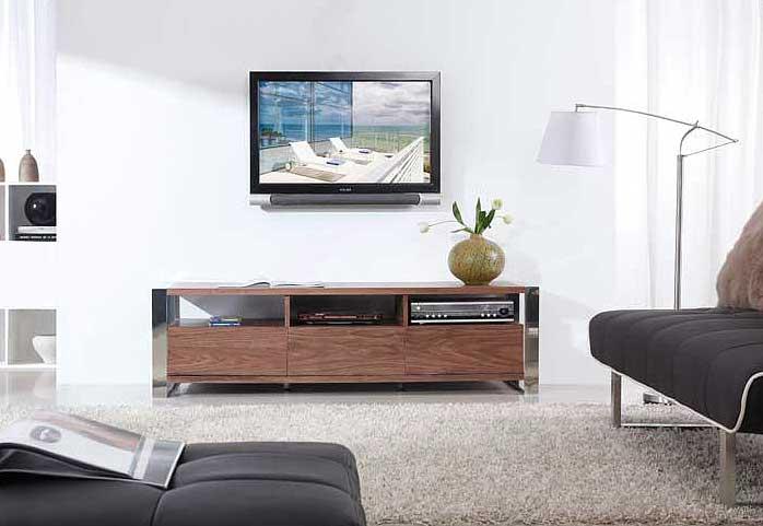 Home >> Living Room >> TV Stands >> Modern Walnut TV-Stand BM4