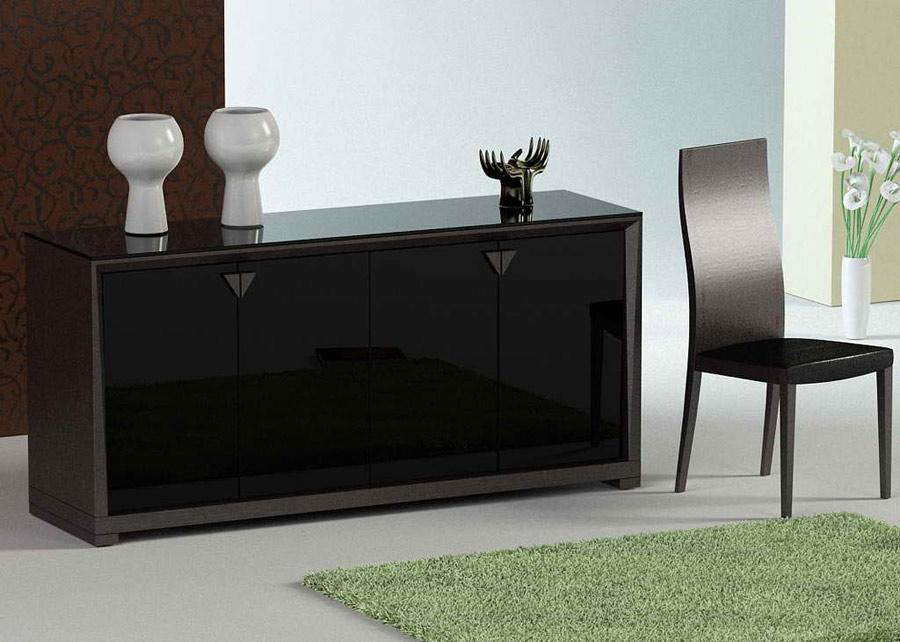 Extendable table vg lisa modern dining - Buffet table extensible ...
