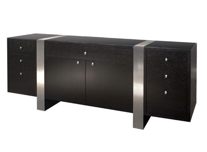 home office furniture executive sh02 wenge color desk