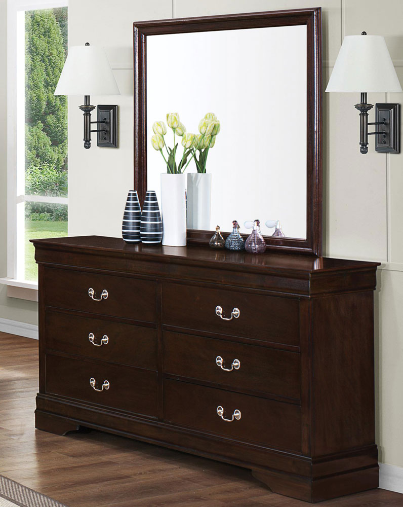 Co411 Cappuccino Bedroom Set Urban Transitional