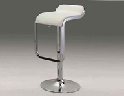 Modern white chair CR6050WH