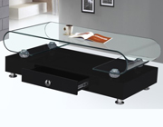 Modern coffee table with storage BQ34